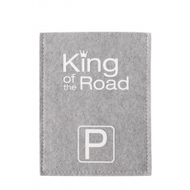 Parkscheibe - King of the Road