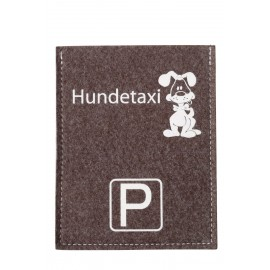 Parkscheibe - Hundetaxi