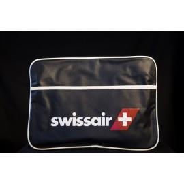 SWISSAIR Umhängetasche mittel - schwarz