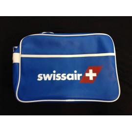 SWISSAIR Umhängetasche mittel - blau