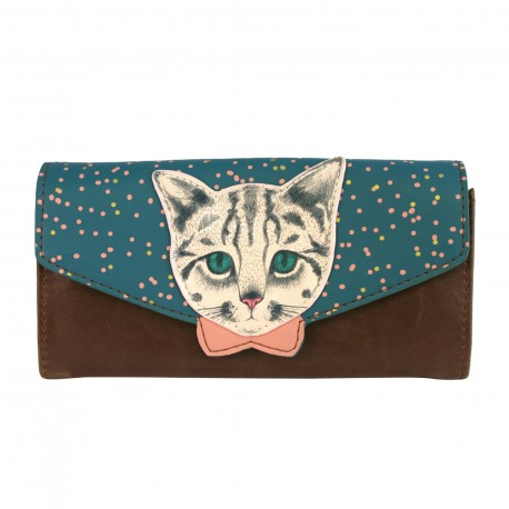 Portemonnaie Disaster Design - Meow Wallet