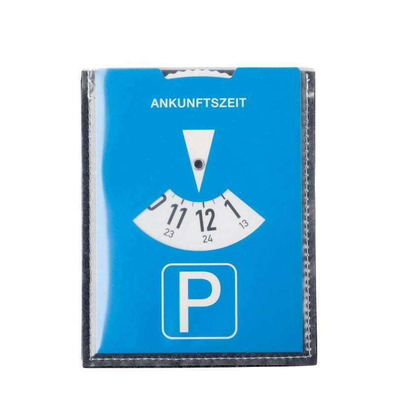 Weiß Rot Blaue Flagge: Parkscheibe / Parkkarte Blaue Zone