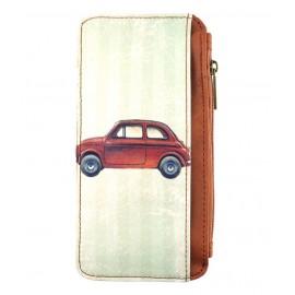 Mlavi Retro Handy-Portemonnaie Fiat