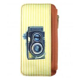 Mlavi Retro Handy-Portemonnaie Camera