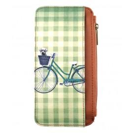 Mlavi Retro Handy-Portemonnaie Fahrrad