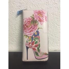 Okalosa Lederportemonnaie - Rose