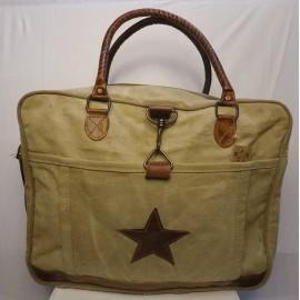 Vintage Tasche Gross - Canvas Star