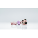 Ladekabel 2in1 - Lightning und Micro USB - Rosegold