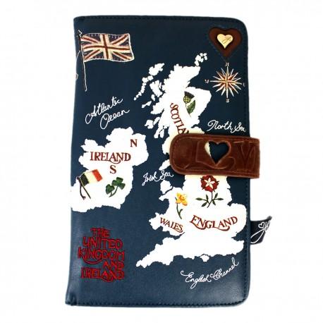 Reise Organizer - Disaster Design - United Kingdom Travel Wallet