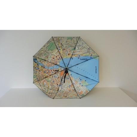 Regenschirm Rainmap Luzern