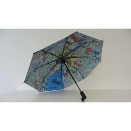 Regenschirm Rainmap Zürich