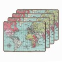 World Traveller Placemats - Servierbretter (4 Stück)