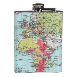 World Traveller Hip Flask - Flachmann