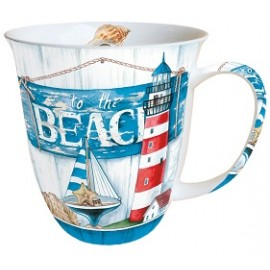 To the Beach Tasse