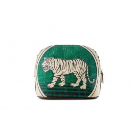 Elephbo Handy Bag-in-Bag Green Tiger