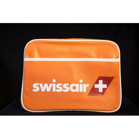 Umhängetasche SWISSAIR mittel - orange