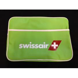SWISSAIR Umhängetasche klein - hellgrün