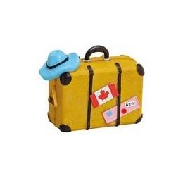 Kässeli Koffer gelb