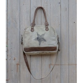 Vintage Tasche - Canvas Big Star