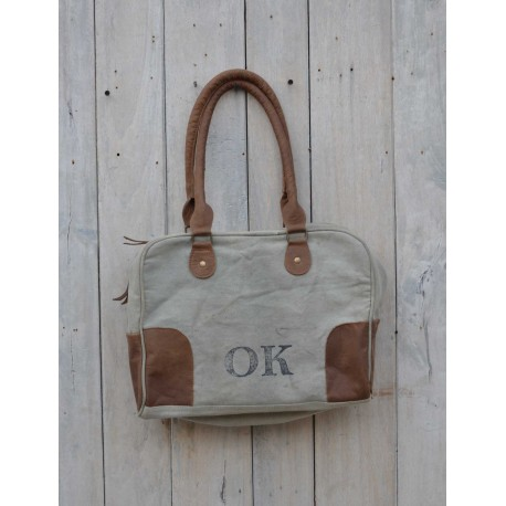 Vintage Tasche - Canvas OK Home Design