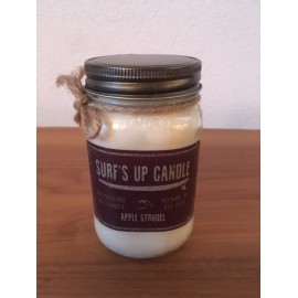 Surf's Up Glass Candle Apple Strudel