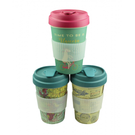 Bamboo Cup Poststempel