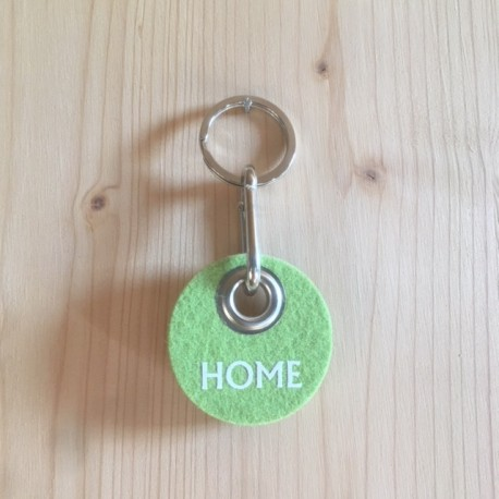 Filz Schlüsselanhänger Home