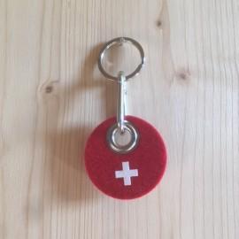 Filz Schlüsselanhänger Schweiz