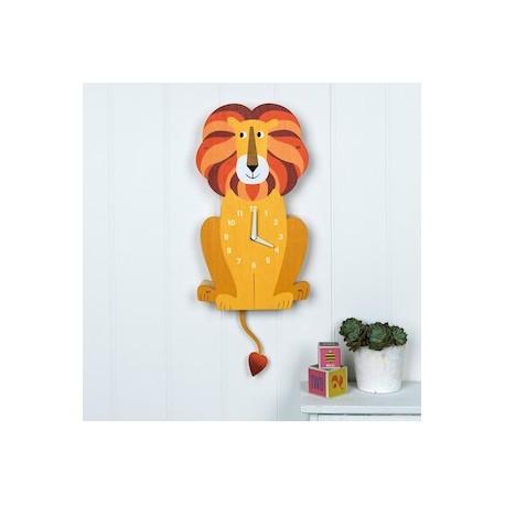 Wanduhr - Charlie der Löwe