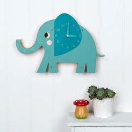 Wanduhr Rex London - Elvis der Elefant