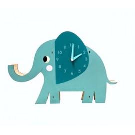 Wanduhr - Elvis der Elefant