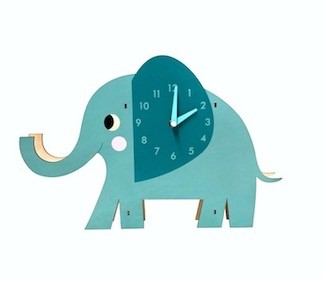Wanduhr rex london elvis der elefant elvis der elefant - Wanduhr fur kinder ...