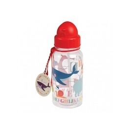 Trinkflasche mit Trinkhalm Rex London - ABC