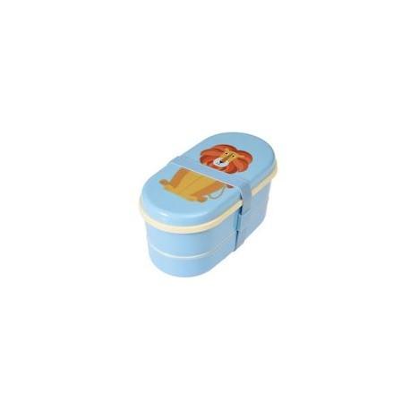 Bento-Box / Lunch Box mit Besteck Rex London - Charlie der Löwe