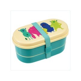 Bento-Box / Lunch Box mit Besteck Rex London - Monster