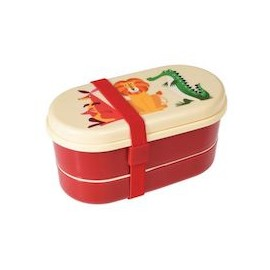 Bento-Box / Lunch Box mit Besteck Rex London - Colorful Creatures