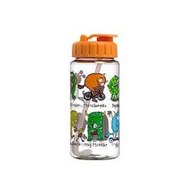 Trinkflasche mit Trinkhalm Tyrrell Katz - Monster