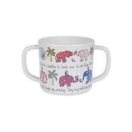 Tasse mit Doppelhenkel Tyrrell Katz - Elefanten