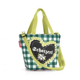 reisenthel Shopper XS special editon 'Bavaria 3' - grün/schwarz/pink
