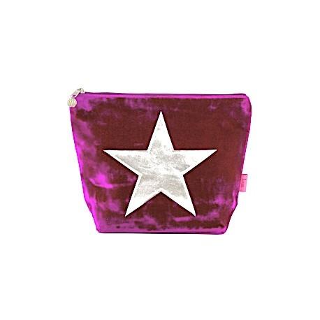 LUA Samtbeutel gross - purple