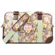 Candy Flowers TULIP Hand-/Umhänge- & Sporttasche 4247 - violett mit gelben Uhren