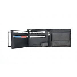 Echt Leder Portemonnaie Kanton Zug - 11 x 7 cm