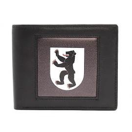 Echt Leder Portemonnaie Kanton Appenzell Innerrohden - 11 x 7 cm