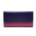 Mywalit Portemonnaie dreifach faltbar - Sweet Violet - violett-weinrot-blau