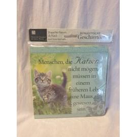 Menschen, ie Katzen nicht mögen müssen in einem früheren Leben eine Maus gewesen sein