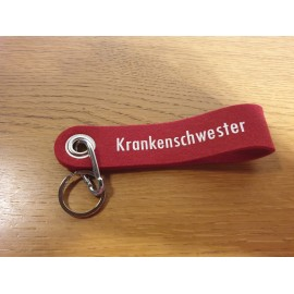 "Filz Schlüsselanhänger "" Krankenschwester"""