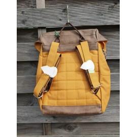 ZWEI Rucksack Kunstfasergewebe OLLI 08 yellow