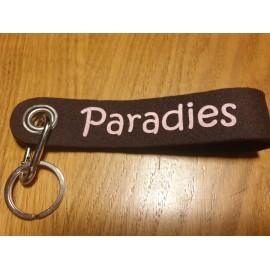 Filz Schlüsselband  Paradies